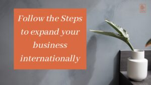 expand your business internationally on social media