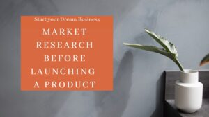 market research before product launching